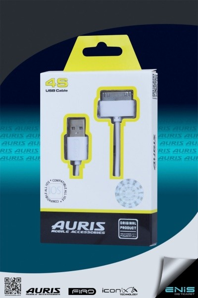 Auris USB Cable for iPhone 4s