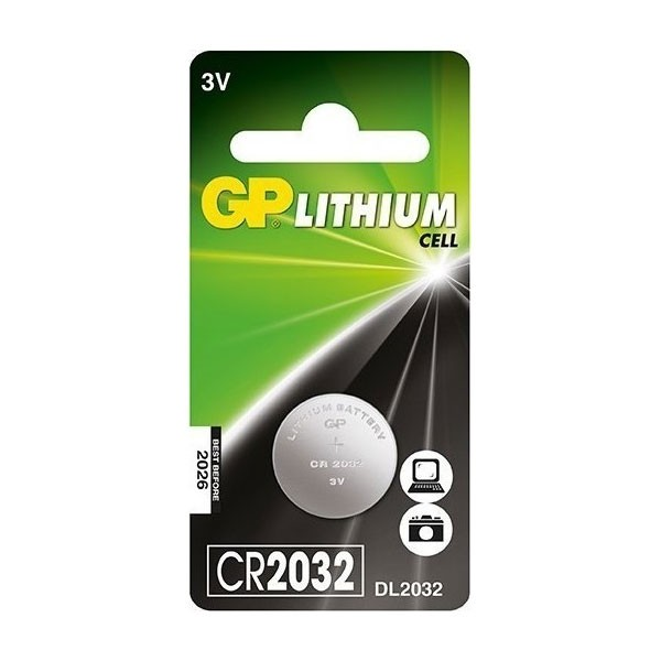 GP Electronic Device Battery - CR2032