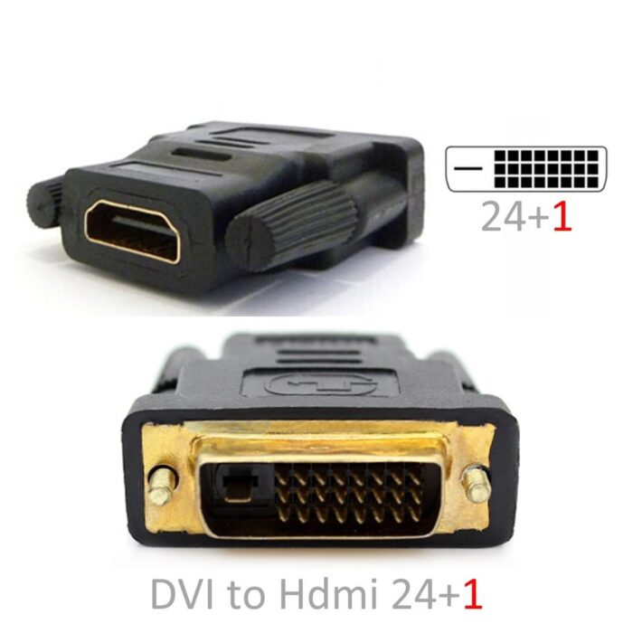 DVI 24+1 to HDMI 4cm Adapter