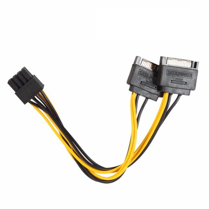 Sata to 8 Pin Power Cable