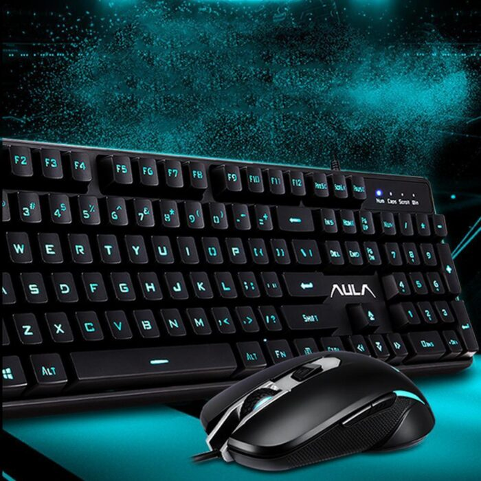 Aula T100 Combo Gaming Keyboard & Mouse